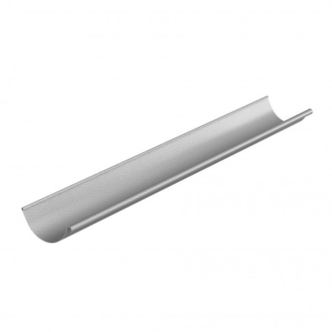 Jgheab de scurgere aluzinc semicircular, D 125 mm, Baudeman, 2 m