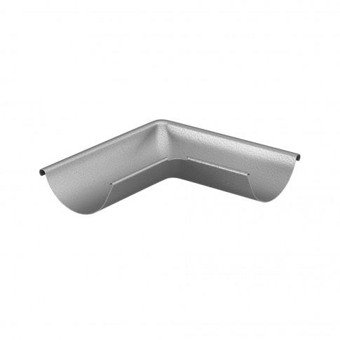 Coltar exterior Baudeman, 90 grade, aluzinc, 125 mm