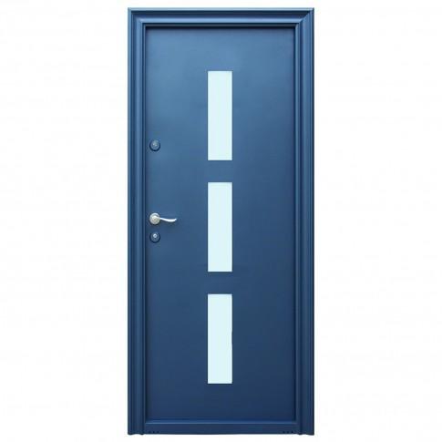 Usa metalica pentru exterior Tracia Danubius, dreapta, diverse culori, 205 x 88 cm + accesorii
