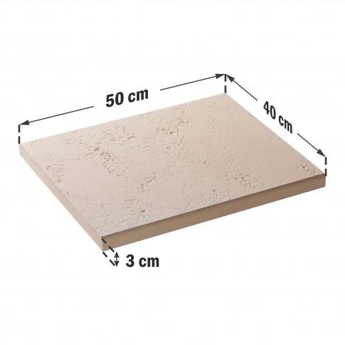 Capac interval gard Star Stone, Roma Clasic, 500 x 400 x 30 mm