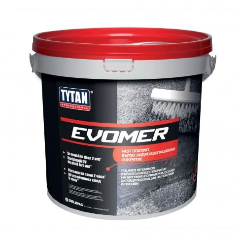 Strat rapid final pentru hidroizolatie acoperis, Evomer Fast Coating Tytan Professional, 9 kg
