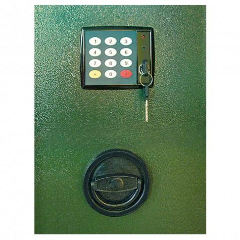 Dulap arme Guntronic 10 Rottner, 2 usi, verde, electronic, 400 x 800 x 1500 mm