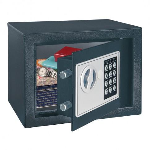 Seif pentru mobila hotel Homestar Rottner T06085, electronic, antracit, 250 x 190 x 190 mm
