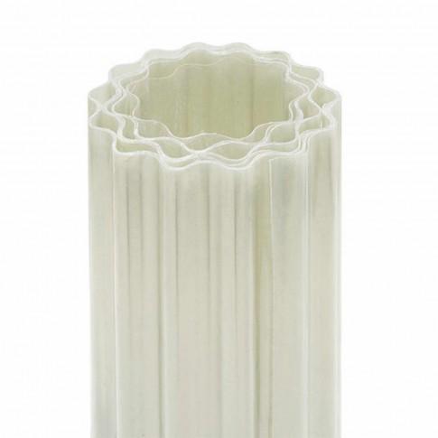 Acoperis ondulat Guttagliss, armat cu fibra de sticla,  incolor, 40 x 2 m