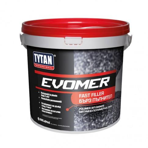 Chit rapid de reparatii pentru hidroizolatie, Evomer Fast Filler Tytan Professional, 5 kg
