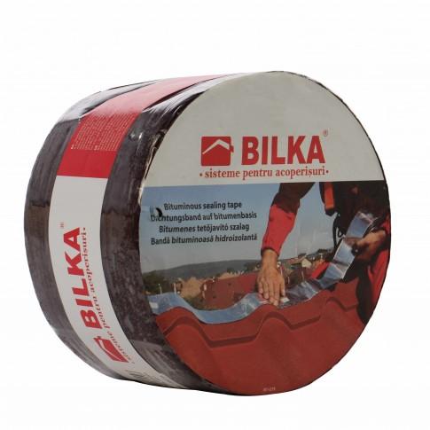 Banda etansare Bilka Aluband 100 mm, 10 m, maro