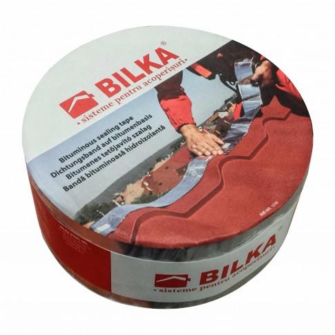 Banda etansare Bilka Aluband, rosu, 75 mm, 10 m