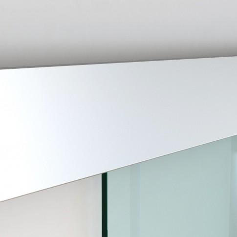 Usa de interior culisanta RS120, Unic Spot RO, sticla securizata, 85 x 205 cm