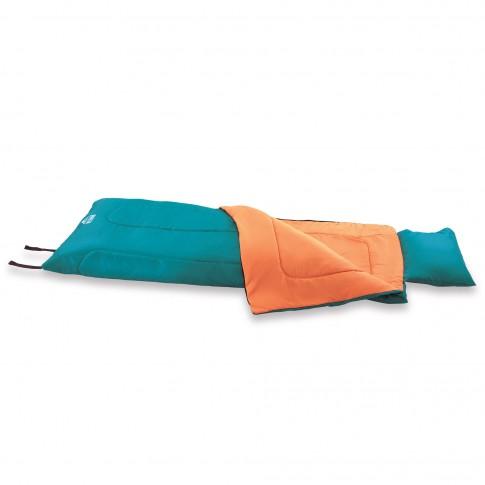 Sac de dormit Bestway Hibernator 200, o persoana, 190 x 84 cm + sac transport + perna