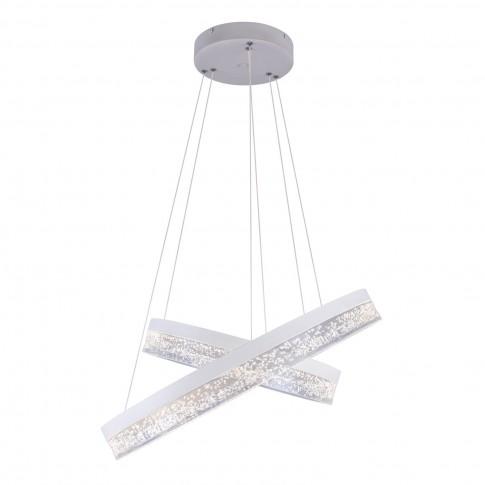 Suspensie LED Smitty 68225-60, 60W, 4100 lm, lumina neutra, alba