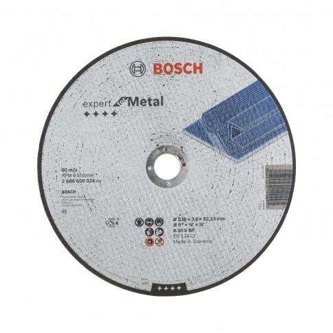 Disc debitare metale, Bosch Expert for Metal, 230 x 22.23 x 3 mm