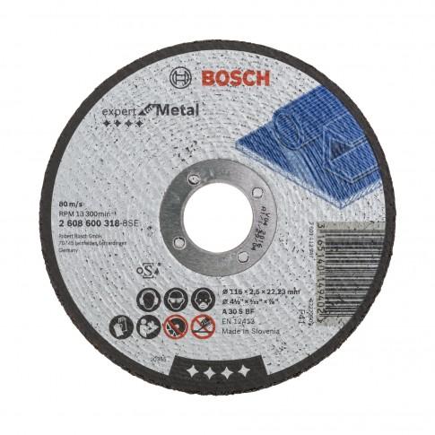 Disc debitare metale, Bosch Expert for Metal, 115 x 22.23 x 2.5 mm