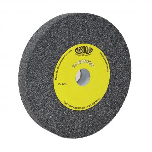 Piatra abraziva pentru slefuit metale, Carbochim, 150 x 20 x 20 mm