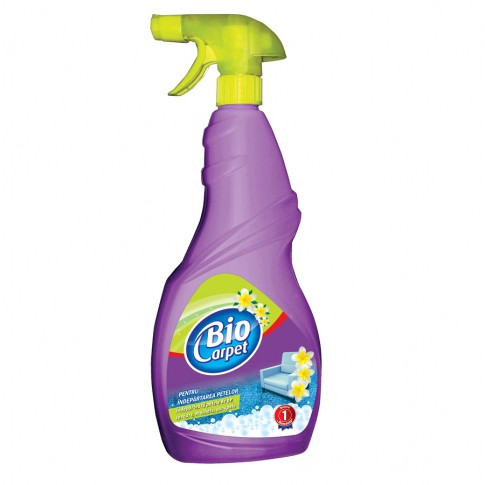Detergent covoare si carpete Biocarpet, spray, 750 ml