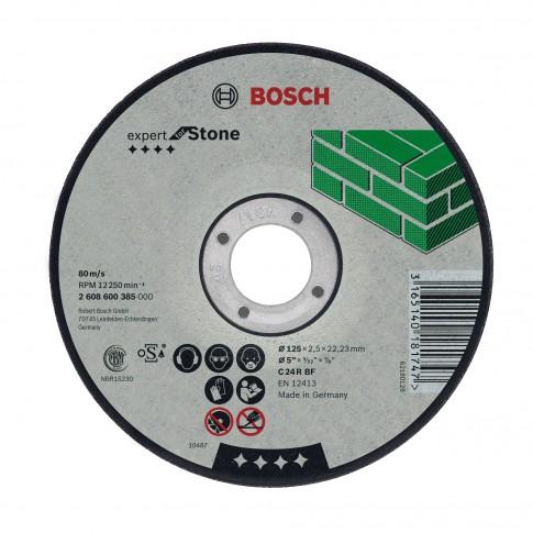 Disc debitare piatra, Bosch Expert for Stone, 125 x 22.23 x 2.5 mm