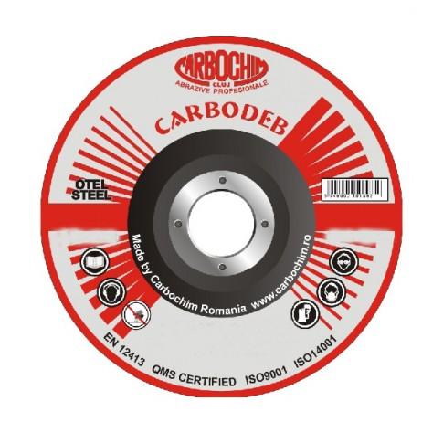 Disc polizare otel, Carbochim 11ABACH27, 230 x 22 x 6 mm