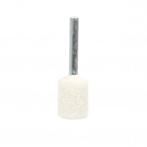 Piatra abraziva pentru slefuit metale, Carbochim, 20 x 25/6 x 40 mm