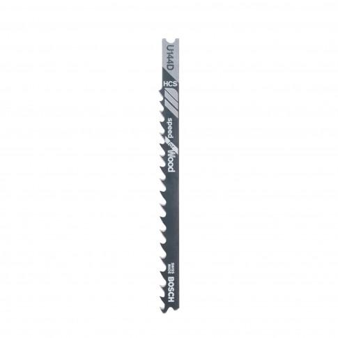 Panza fierastrau vertical, pentru lemn, Bosch Speed for Wood, U 144 D, 2608630568, set 3 bucati