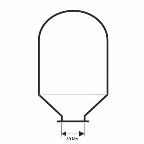 Membrana EPDM pentru vas hidrofor, 24 L, ME024A (MEM005)