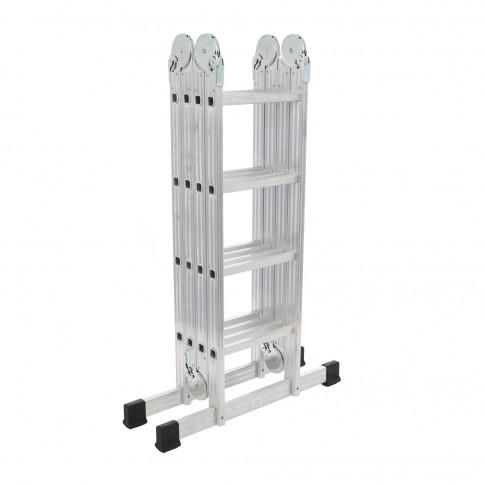 Scara aluminiu articulata 4 x 4 trepte