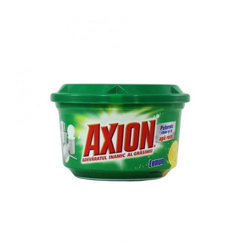 Detergent pasta pentru vase Axion, aroma lamaie, 400 g