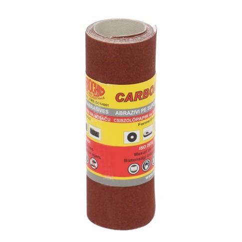Rola panza abraziva pentru lemn, metale, constructii, Carbochim PESK, granulatie 180, rola 1 m x 120 mm