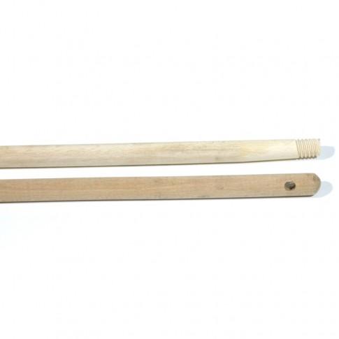 Coada pentru menaj lemn natur 0741, cu filet, 120 cm