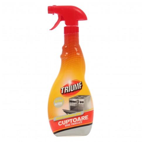 Solutie lichida pentru aragaz si cuptor Triumf 5639, aroma citrice, 500 ml