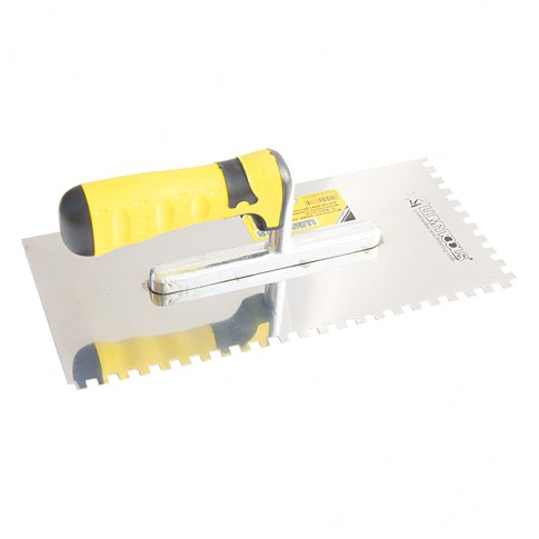 Gletiera inox, cu dinti, Lumytools LT06736, 28 x 13 cm