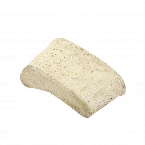 Piatra abraziva, forma rinichi, pentru finisare widia / piatra / metale neferoase, Carbochim 21C20R5M, 120 x 45 x 65 mm