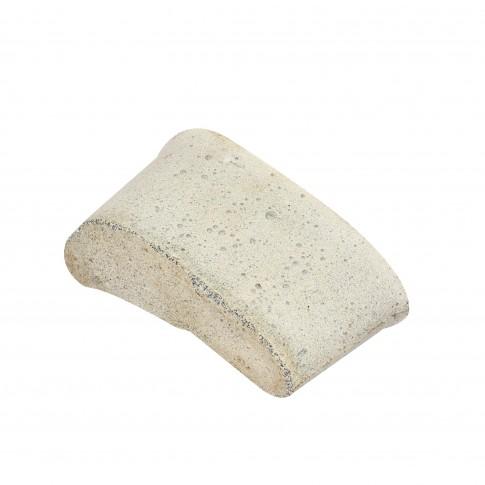 Piatra rinichi, abraziva, pentru slefuit beton / marmura / granit, Carbochim 21C-36P, 120 x 45 x 65 mm