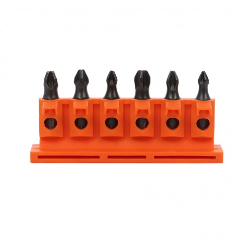 Set 6 biti pentru insurubare + adaptor magnetic, FlatBox Industry USH BT 6040