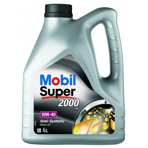 Ulei motor auto Mobil Super 2000 X1, 10W-40, 4 L