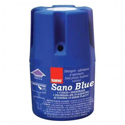 Odorizant bazin wc Sano Blue, solid, 150 g