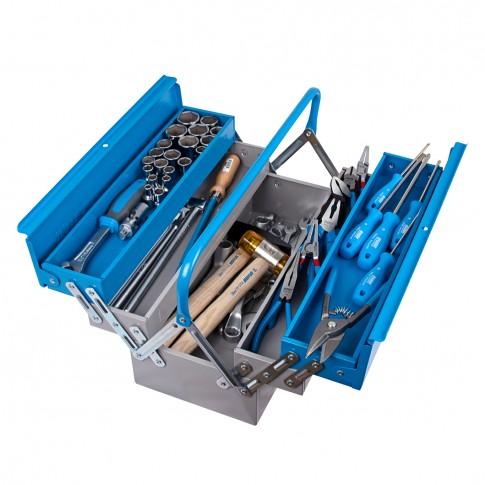 Trusa de scule pentru mecanici auto, 65 piese