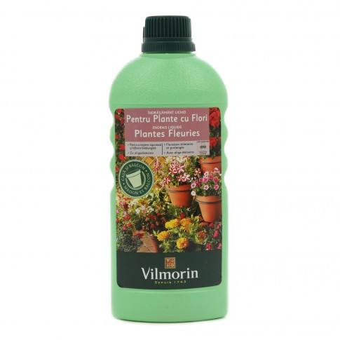 Ingrasamant pentru plante cu flori Vilmorin, lichid, 500 ml