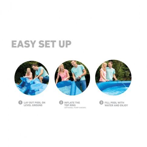 Piscina Intex Easy Set 56922/28122, gonflabila, cu pompa filtrare, 305 x 76 cm