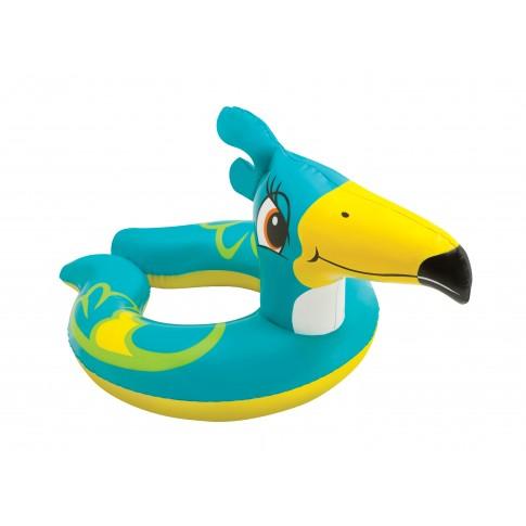 Colac gonflabil inot, pentru copii, cu animalut, Intex 59220 NP