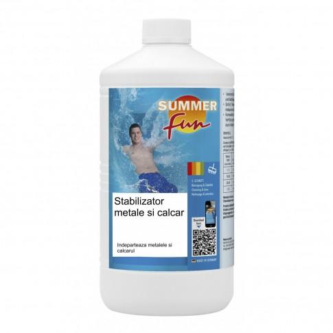 Stabilizator metale si calcar Summer Fun, pentru apa piscina