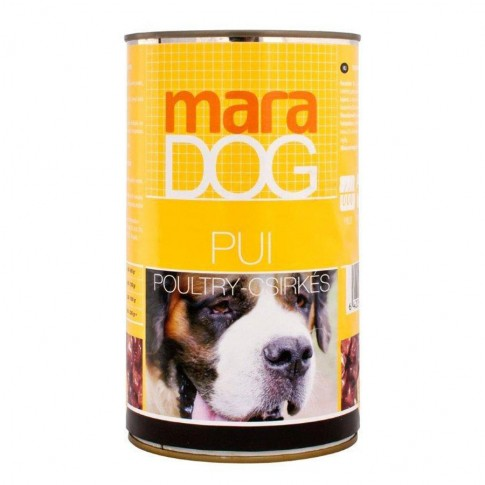 Hrana umeda pentru caini, Maradog, adult, carne de pui, 1.25kg
