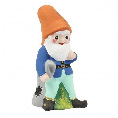 Figurina pitic mic OG.03, din ceramica, decoratiune gradina, H 31 cm