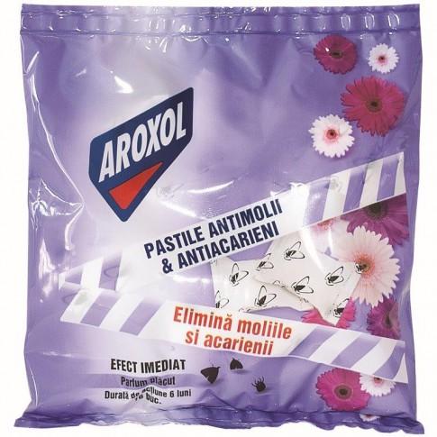 Pastile parfumate antimolii Aroxol, 16 buc / pachet