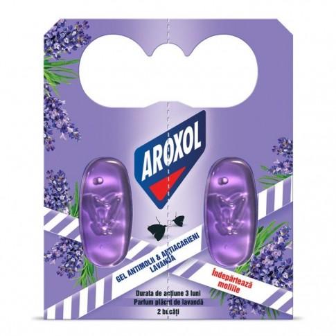 Gel antimolii Aroxol, 2 buc / pachet