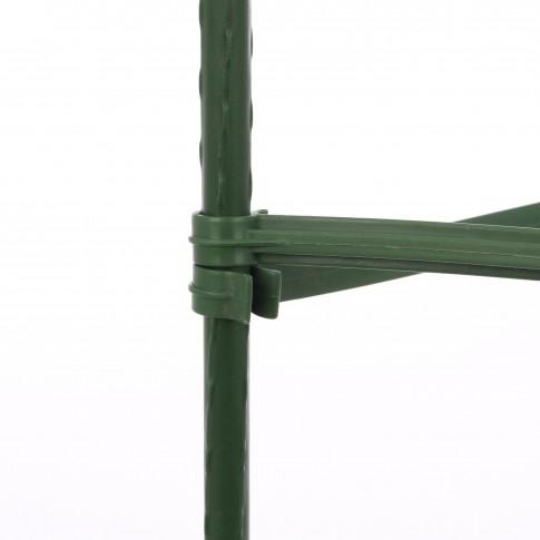 Suport pentru tomate Versay TS-5, otel plasticat, verde, 150 cm