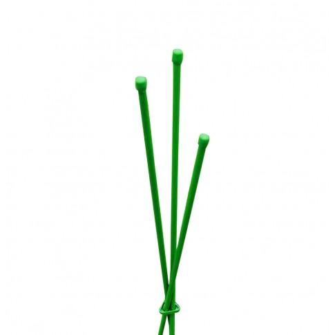 Suport pentru plante Versay TT120, otel plasticat, verde, 120 cm
