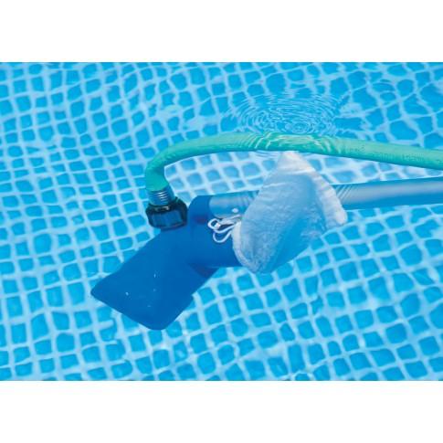 Kit intretinere piscina, perie + plasa + maner telescopic, Intex 58958