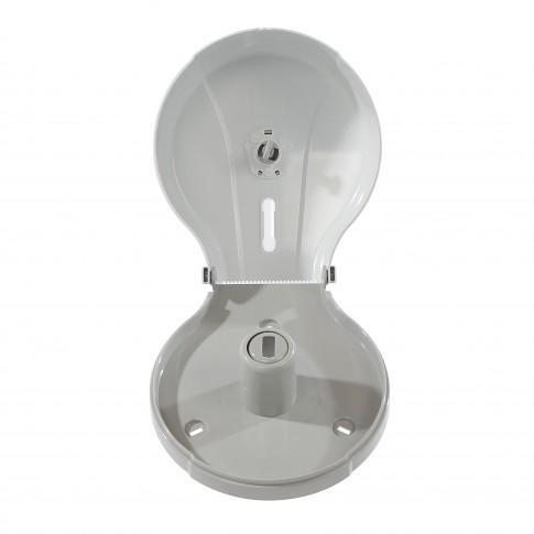 Dispenser hartie igienica Misavan, alb, pentru hartie Mini Jumbo