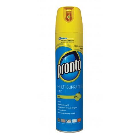 Spray curatare mobila multi-suprafete Pronto lime 300 ml