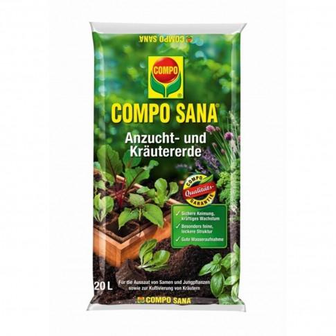 Pamant pentru rasaduri Compo Sana 1062804004, 20 l