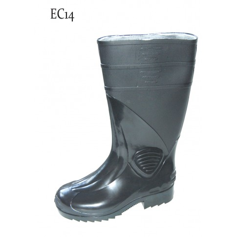 Cizme protectie apa / noroi Interbabis EC14, PVC, antiderapante, marime 43